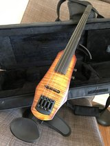 NS WAV electric violin with hard case in Byron, Georgia