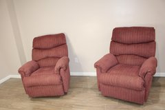His and Hers Recliners in Houston, Texas