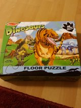 dinosaur puzzle in Ramstein, Germany