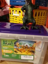 animal planet bucket of dinosaurs in Ramstein, Germany