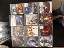 PS3 games lot in Fort Campbell, Kentucky