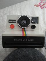 Polaroid land camera one step in Yucca Valley, California