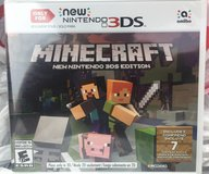 "Minecraft ""The New"" Nintendo 3ds game in Baytown, Texas"