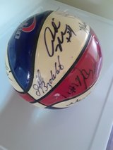 2004 denver nuggets signed ball in Fort Irwin, California