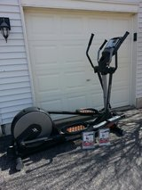 Elliptical; Audio Strider 990 with iFit Programs in Naperville, Illinois