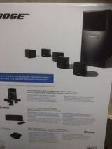 Bose speakers with receiver black in New Lenox, Illinois