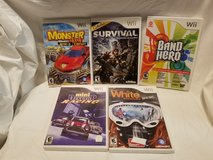 4 Wii Games All for $10.00 in Beaufort, South Carolina