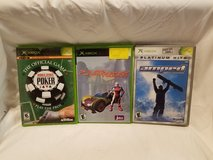 3 Xbox Video Games in Beaufort, South Carolina