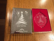 Rich's - Macy's Great Tree Lead Crystal Ornament - 2003 - In Box in Oswego, Illinois