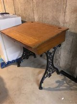 antique school desk in Glendale Heights, Illinois