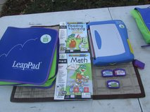 Leap pad with 6 cartridges in Oswego, Illinois