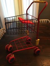 Kids Shopping Cart Child Metal Toy Play Grocery Pretend in Palatine, Illinois