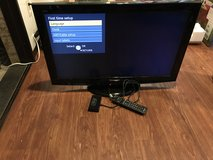 "32"" Panasonic flatscreen tv with 2 remotes in Okinawa, Japan"
