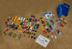 Lot of HotWheels, Matchbox, Assorted Vehicles, plus Ultimate Ford Complex in Plainfield, Illinois