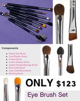Eye brush set in Leesville, Louisiana