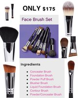 Face brush set in Leesville, Louisiana