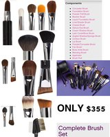 Complete brush set in Leesville, Louisiana
