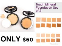 Touch mineral foundation set of 2 in Leesville, Louisiana
