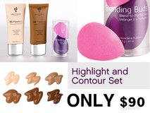 Highlight and contour set in Leesville, Louisiana