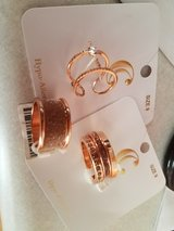 Rose gold rings size 9 in Wheaton, Illinois