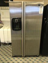 GE Profile Stainless Side by Side Refrigerator - USED in Fort Lewis, Washington