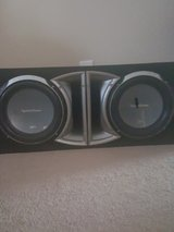 """Rockford Fosgate P2 12"""" Punch subwoofers with P2L-212 Enclosure in Warner Robins, Georgia"""