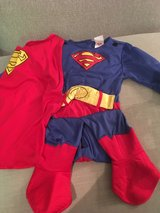 Superman Dressing up Outfit (3-4yrs) in Lakenheath, UK