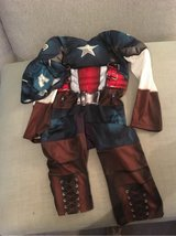 Captain America Dressing up outfit (5-6yrs) in Lakenheath, UK