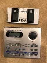 Boss DR-3 Drum Machine with Pedal in St. Charles, Illinois