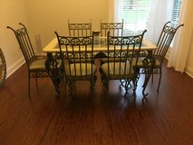 Elegant dining set with 6 chairs in Dothan, Alabama