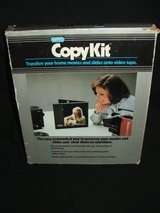 Vintage Copy Kit for Copying 8mm Super 8 16mm Film or Slides to VHS or DVD NEW in Lockport, Illinois