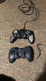 2 USB Computer game controllers in Perry, Georgia