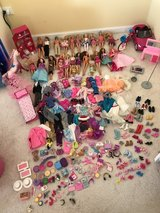 Barbies and accessories in Aurora, Illinois