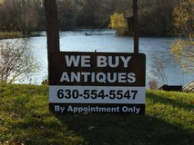 We Buy Antiques in Yorkville, Illinois
