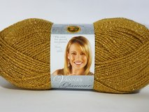 Brand New Vanna's Glamour Yarn, Gold in Peoria, Illinois