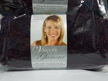 Brand New Vanna's Glamour Yarn,  Garnet in Peoria, Illinois