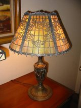 Bradley & Hubbard Signed Table Lamp in Camp Pendleton, California