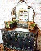 Circa 1920's farmhouse finish buffet/dresser in Elgin, Illinois