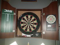 dart board in Pearland, Texas
