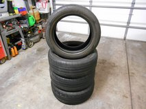 Set of 4 Firestone Primewell Valera Sport AS 215 55 17 Tires in Shorewood, Illinois