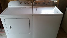 Matching whirlpool washer and dryer set in Fort Rucker, Alabama