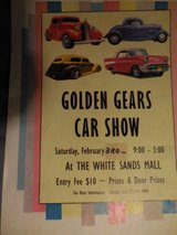 GOLDEN GEARS CAR SHOW in Alamogordo, New Mexico