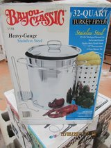 Turkey Deep Fryer (Bayou Classic Heavy Duty 32 quart) in Alamogordo, New Mexico