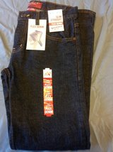 New 28 X  30 Arizona Slim straight flex denim jeans dark rinse in Fort Riley, Kansas
