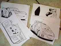 about 100 McQueen and friends coloring pages in Stuttgart, GE