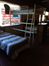 Full Size Loft Bed With Mattress in Leesville, Louisiana