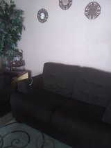 Like new microfiber couchset in Lawton, Oklahoma