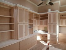 Custom Built Cabinets By Littlest Cabinet Shop in Kingwood, Texas