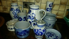 Old blue-grey Stoneware - various items 1 EUR per piece in Stuttgart, GE