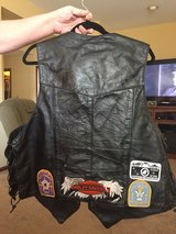 Leather vest in Shorewood, Illinois